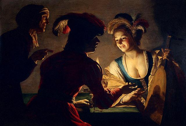 Gerard van Honthorst: The Matchmaker (1625)