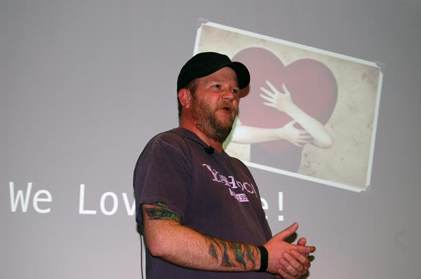 Dave Glass, Node.js architect, Yahoo