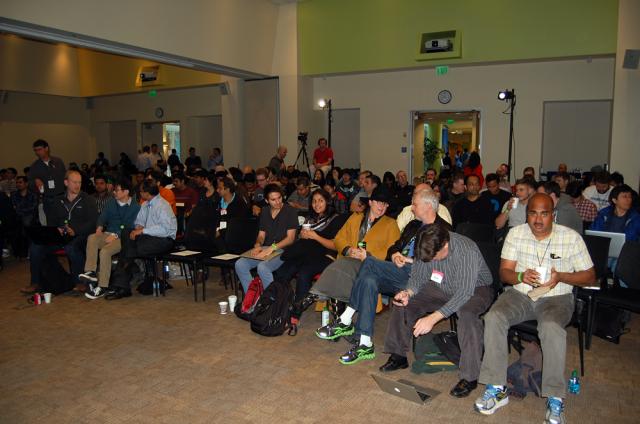 NodeDay audience - full house