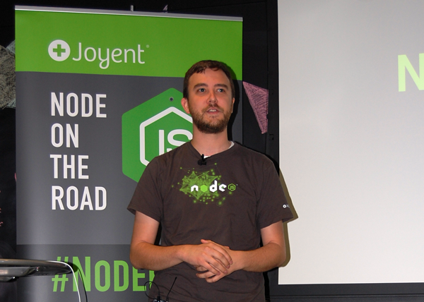 TJ Fontaine, Node.js Core team lead