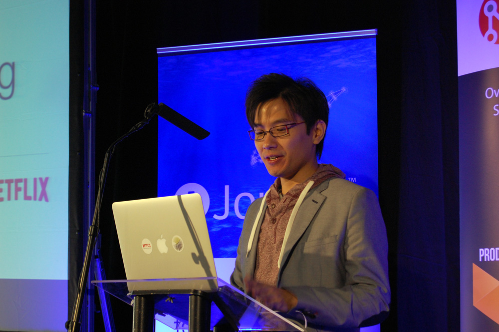 Alex Liu from Netflix on Node.js/Dust.js A/B/C/D/E/F testing.