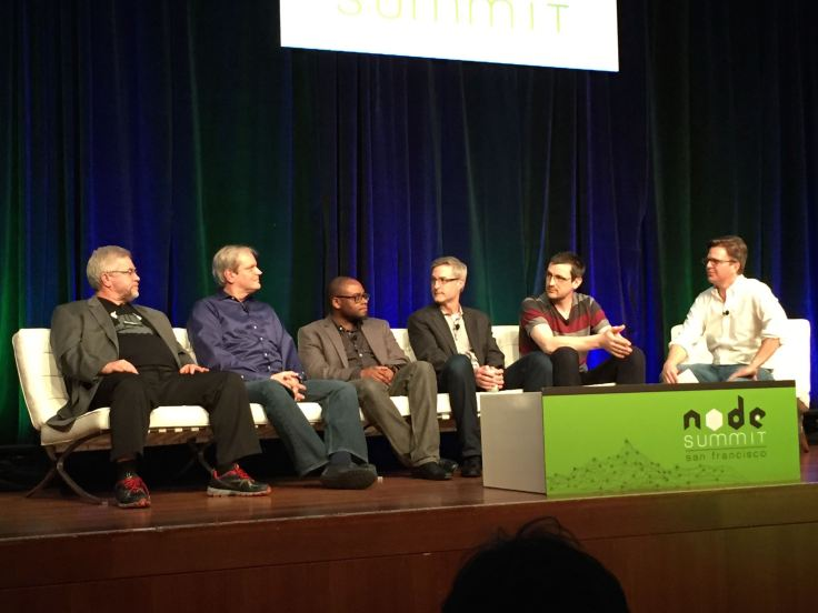 NodeSummit panel with representatives from ???