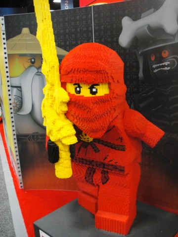 San Diego Comic-Con 2011 - Lego Ninja, The Conmunity - Pop Culture Geek from Los Angeles, CA, USA