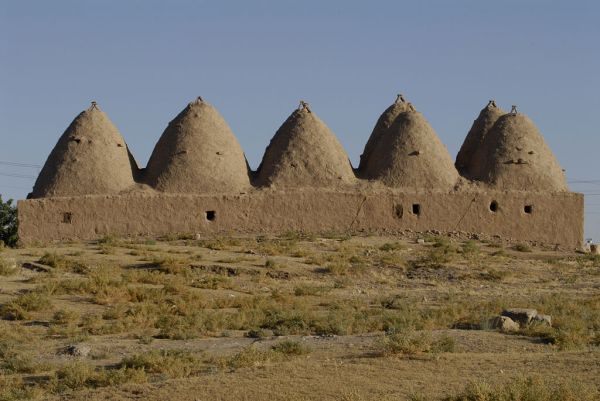 Harran beehive houses, Wikimedia Commons