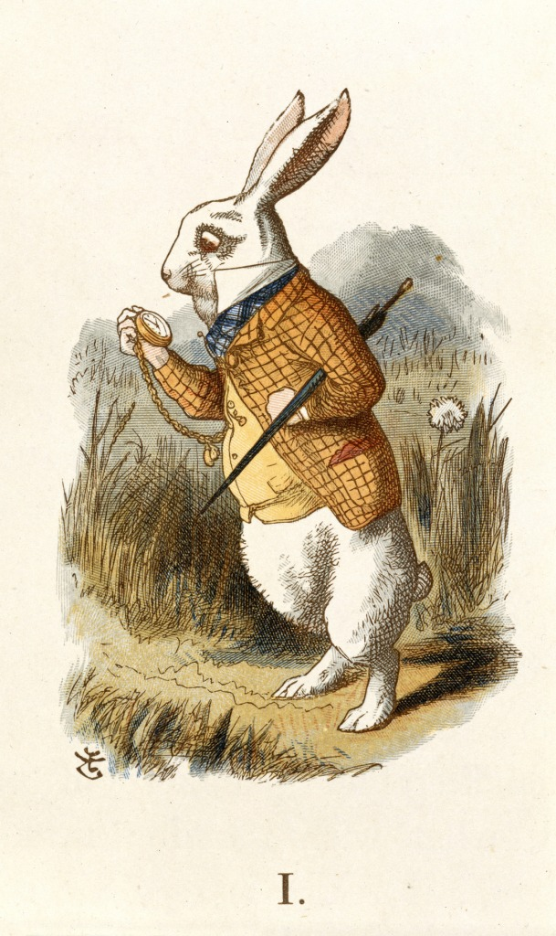 The White Rabbit, Wikimedia Commons